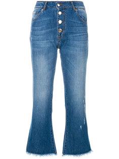 укороченные джинсы на пуговицах Each X Other