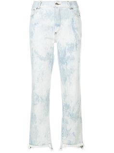 укороченные джинсы с линялым эффектом Each X Other