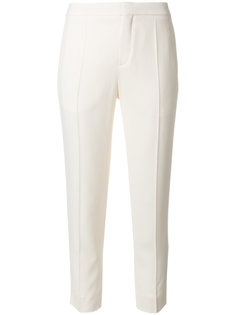 укороченные классические брюки  Chloé