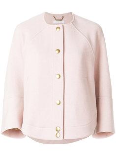 укороченный пиджак с застежкой на кнопки Chloé