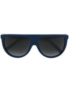 массивные солнцезащитные очки-авиаторы Céline Eyewear