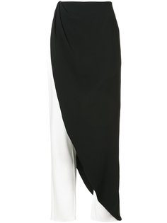 брюки с декоративной юбкой Baja East
