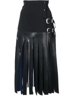 юбка с плоской бахромой Toga