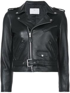 укороченная байкерская куртка Toga