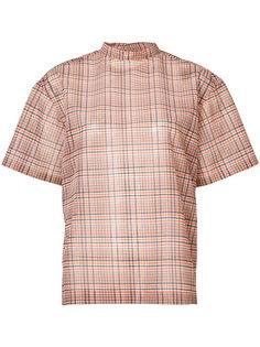 клетчатая блузка Toga