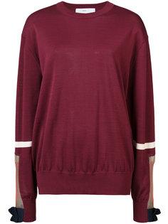 свитер с сетчатой панелью Toga