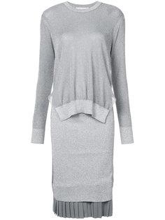 платье-свитер с блестками Toga