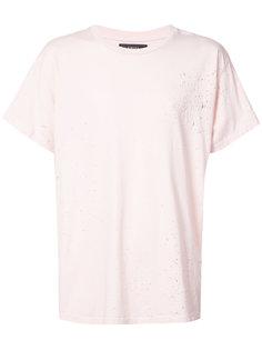 состаренная футболка  Amiri