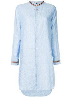 платье-рубашка с воротником-стойкой  Jupe By Jackie