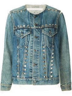 джинсовая куртка с заклепками Maison Mihara Yasuhiro