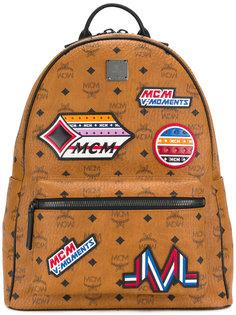 patch appliqué backpack MCM