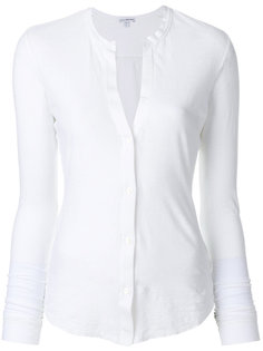 рубашка узкого кроя James Perse