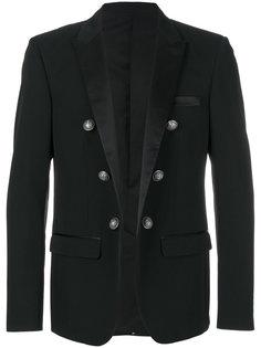 пиджак с декорированными пуговицами Balmain