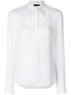 блузка с завязкой на бант Polo Ralph Lauren