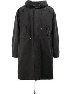 пальто в стиле милитари  Juun.J