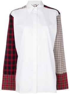 блузка в стиле пэчворк  Helmut Lang