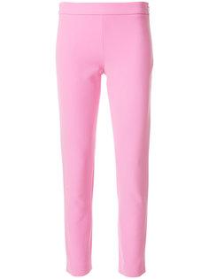 укороченные брюки с завышенной талией  Moschino