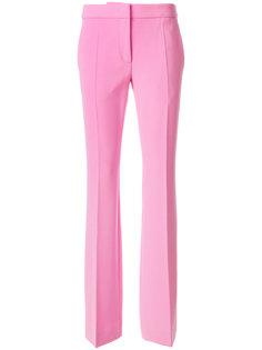 расклешенные брюки слим  Moschino