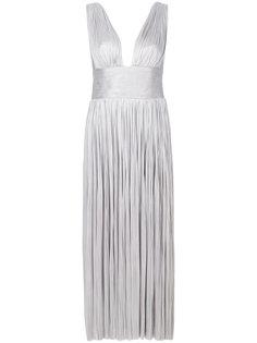 платье с V-образным вырезом Liah  Maria Lucia Hohan