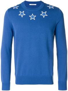 свитер с нашивками звезд Givenchy