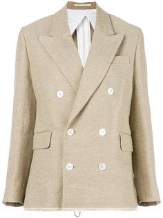 двубортный приталенный пиджак Golden Goose Deluxe Brand