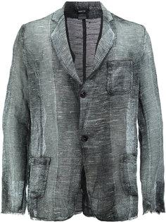 плетеный пиджак с выцветшим эффектом Avant Toi