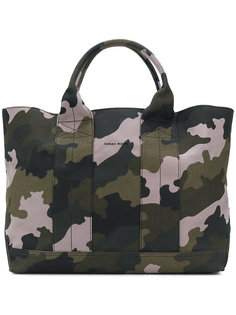 camouflage print tote Tomas Maier
