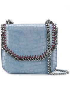 сумка Falabella Box с эффектом крокодиловой кожи Stella McCartney