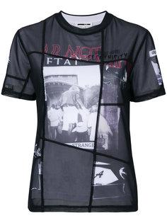 футболка Fear Nothing McQ Alexander McQueen