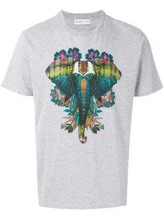 футболка с принтом слона Etro