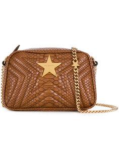сумка на плечо с узором змеиной кожи  Stella McCartney