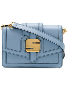 сумка-тоут с металлической деталью Serapian
