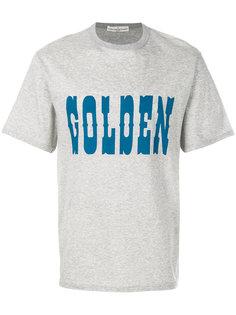 футболка с принтом Golden Golden Goose Deluxe Brand