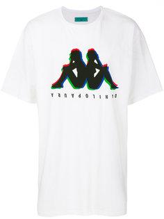 logo print T-shirt Kappa