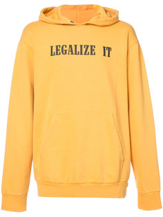 толстовка Legalize It с капюшоном Palm Angels
