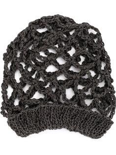 вязаная сетчатая шапка-бини  Lost & Found Ria Dunn