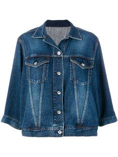 джинсовая куртка с волнистыми рукавами  Sacai