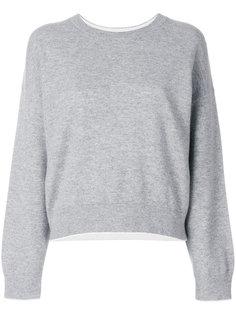 свитер с круглым вырезом  Vince