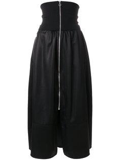 юбка с молнией спереди  Paco Rabanne