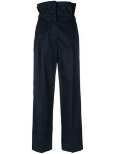 брюки со сборками  Jil Sander