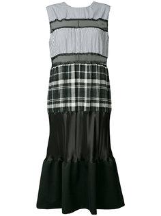 платье без рукавов со вставками  Maison Margiela