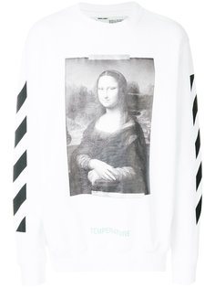 Mona Lisa print sweatshirt Off-White