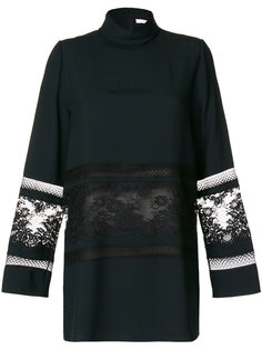 блузка с кружевными вставками Chloé