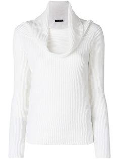 """свитер с воротником """"шалька"""" Iris Von Arnim"""