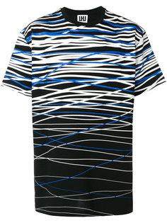 футболка с градиентным эффектом Les Hommes Urban