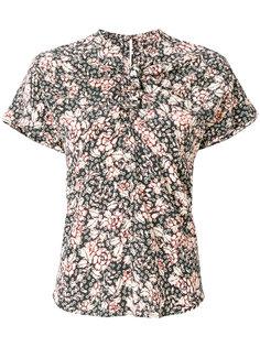 блузка с короткими рукавами и принтом  Isabel Marant