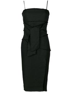 платье с завязками на талии Misha Collection