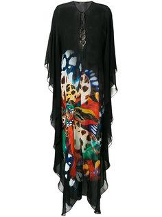длинное платье-кафтан Roberto Cavalli