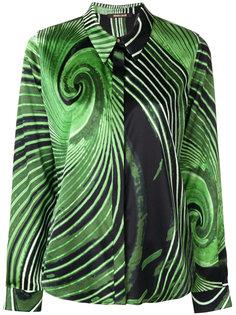 рубашка с потайной застежкой Roberto Cavalli
