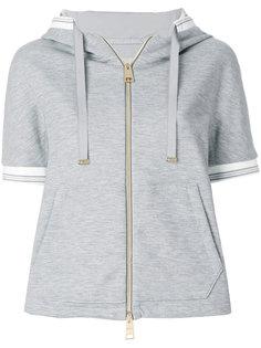 стеганая куртка с короткими рукавами Herno